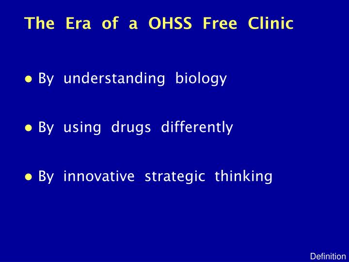 The era of a ohss free clinic