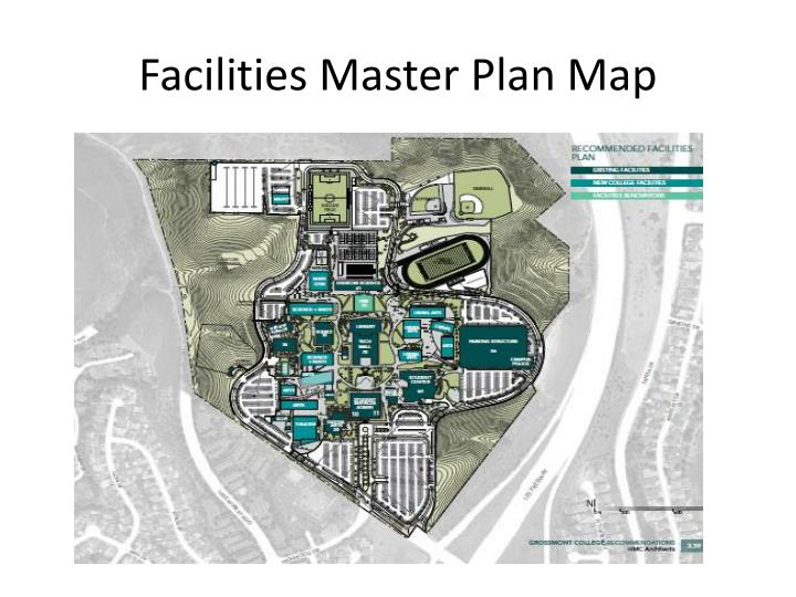 Facilities master plan map
