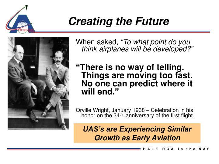 Creating the Future