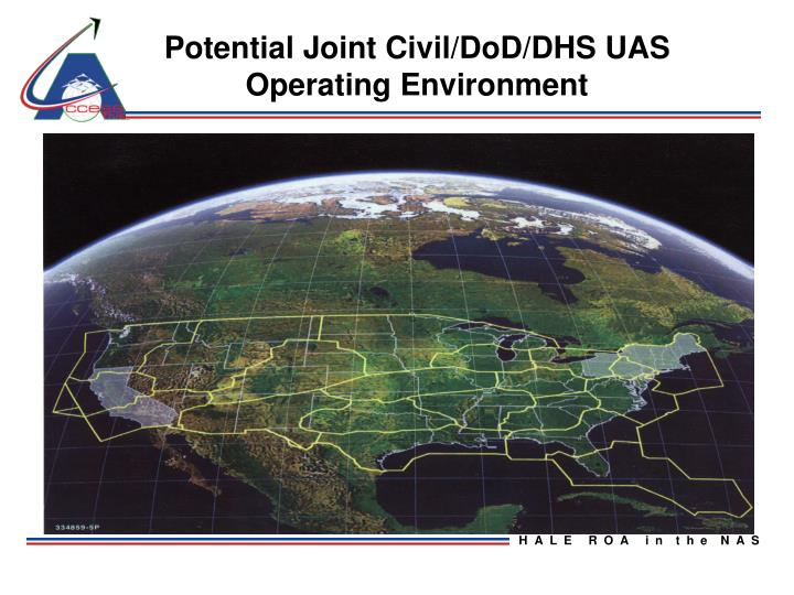 Potential Joint Civil/DoD/DHS UAS