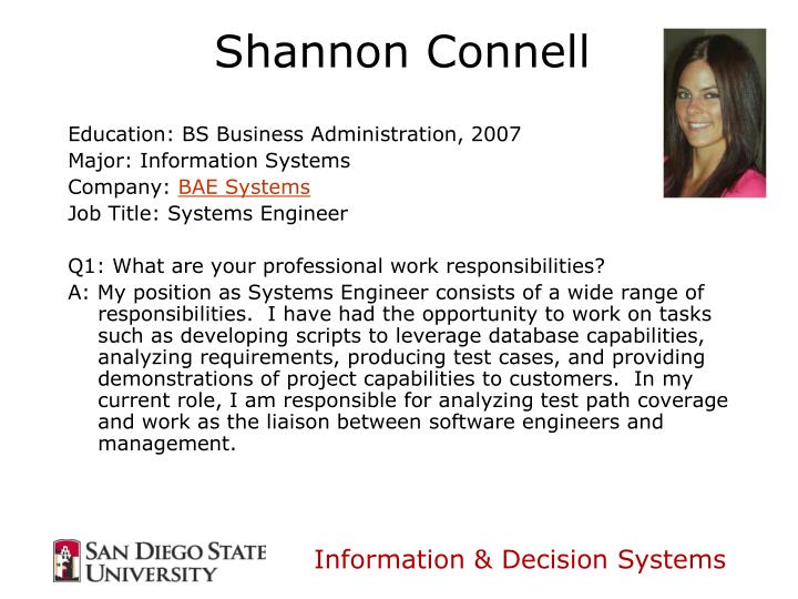 Education: BS Business Administration, 2007