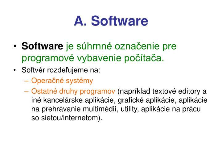A. Software