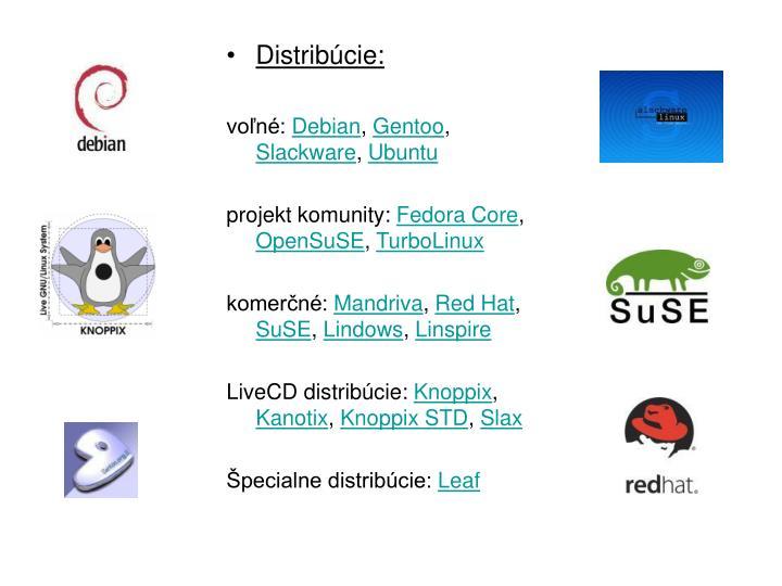 Distribcie: