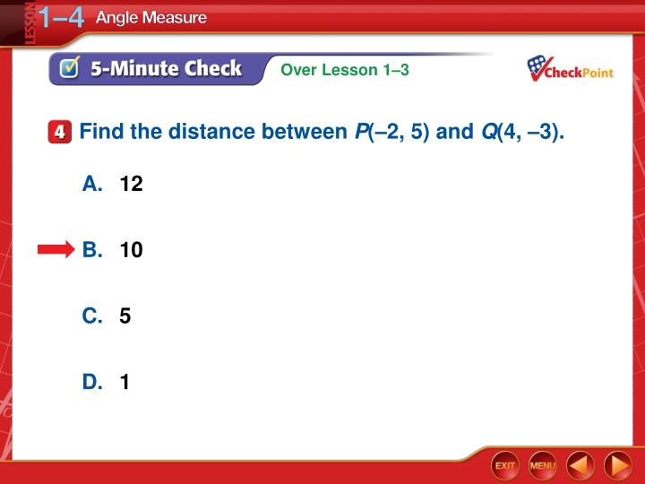Find the distance between