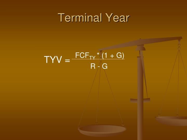Terminal Year