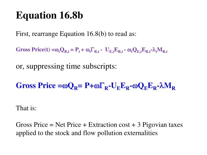 Equation 16.8b