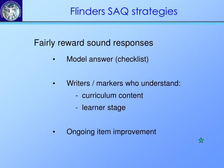 Fairly reward sound responses