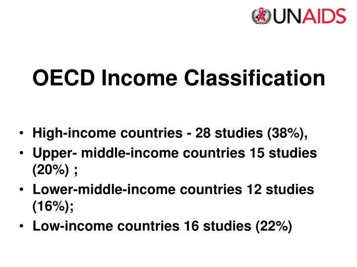 OECD Income Classification