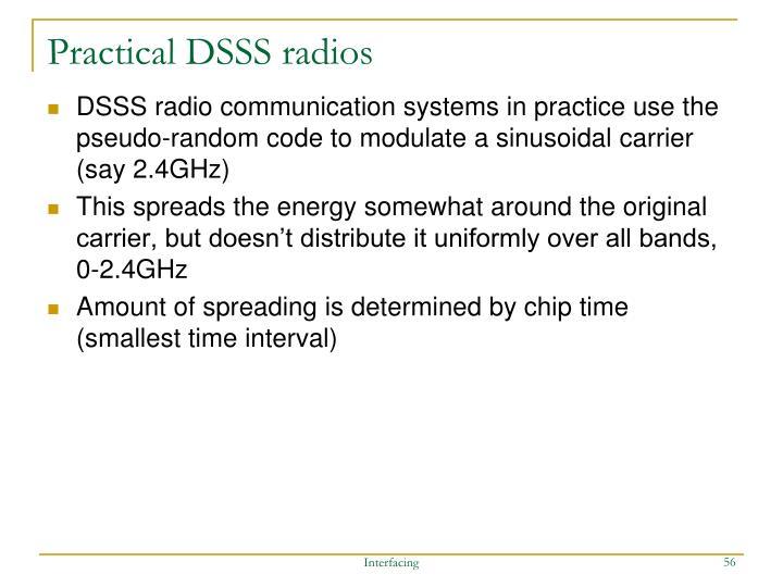Practical DSSS radios
