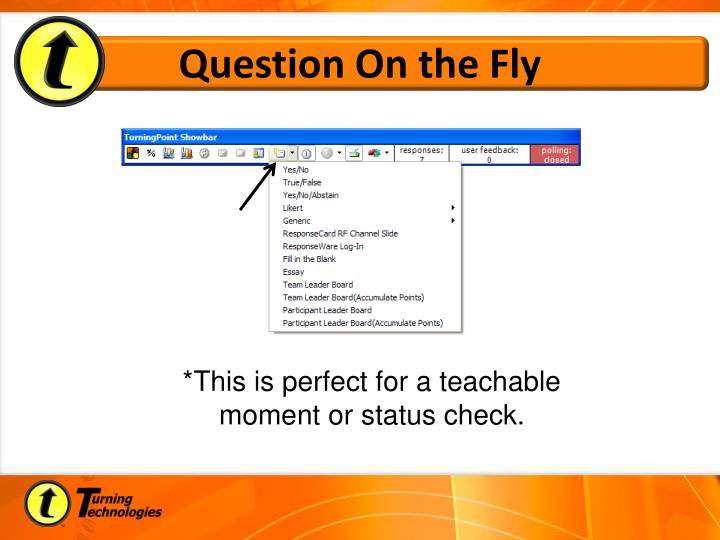 Question On the Fly