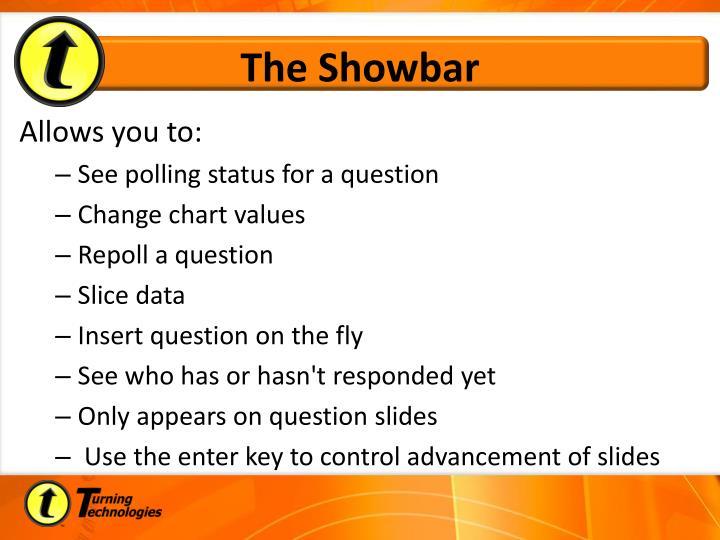The Showbar