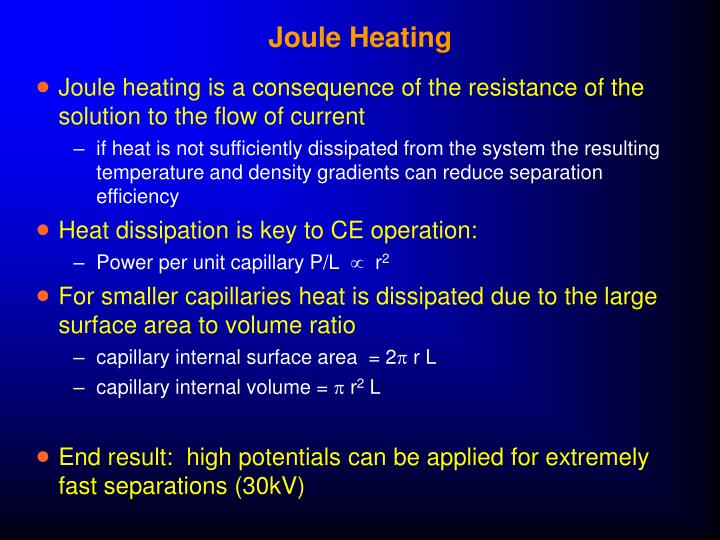 Joule Heating