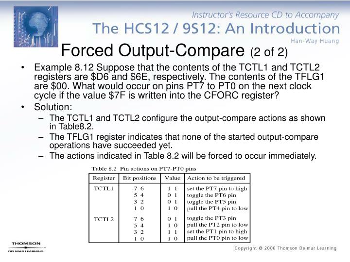 Forced Output-Compare