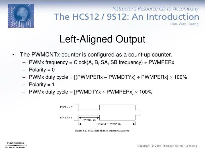 Left-Aligned Output