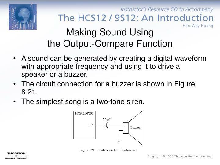 Making Sound Using
