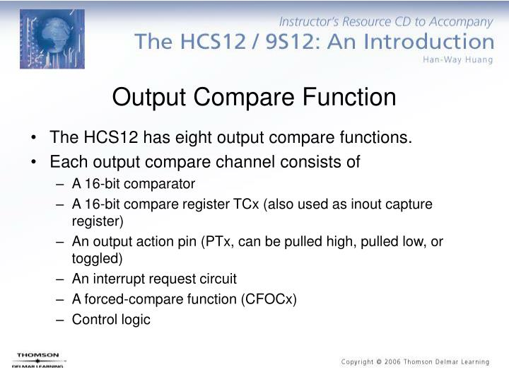 Output Compare Function
