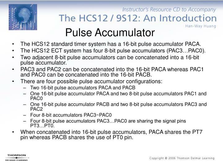Pulse Accumulator