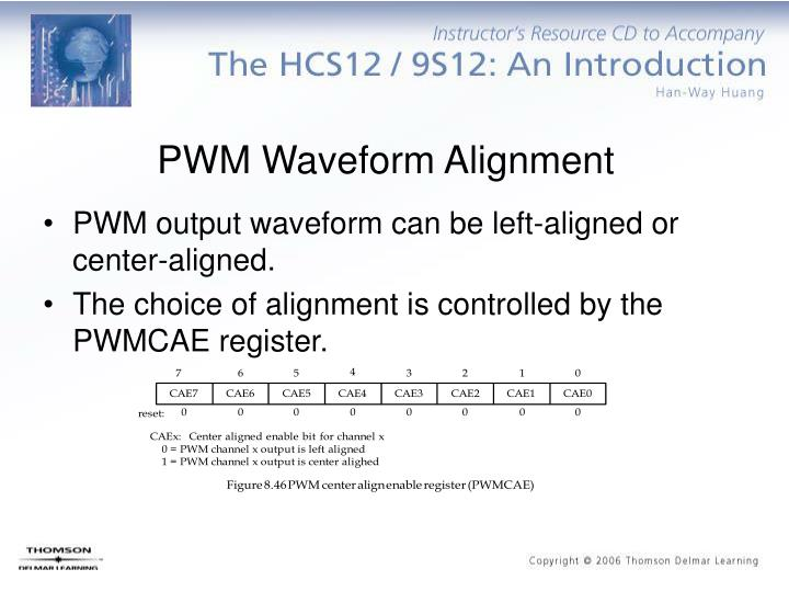 PWM Waveform Alignment