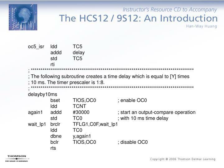 oc5_isr ldd   TC5