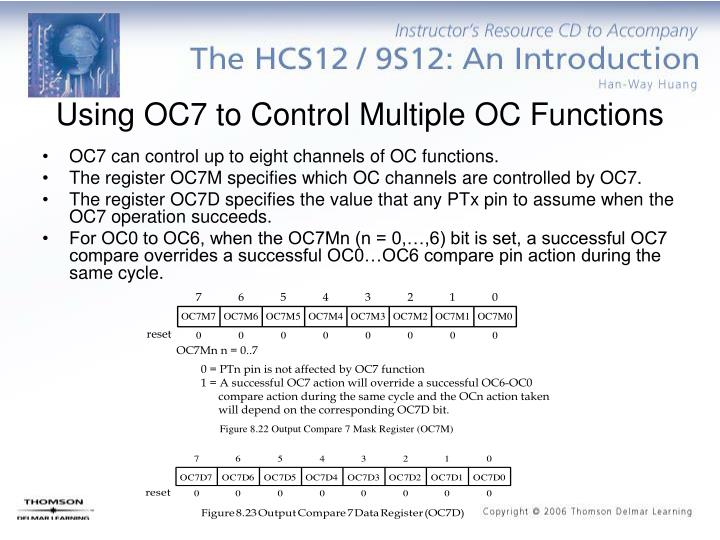 Using OC7 to Control Multiple OC Functions
