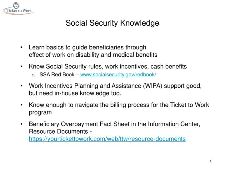 Social Security Knowledge