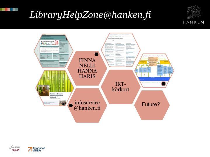 LibraryHelpZone@hanken.fi
