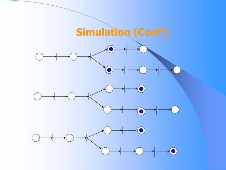 Simulation (Cont')