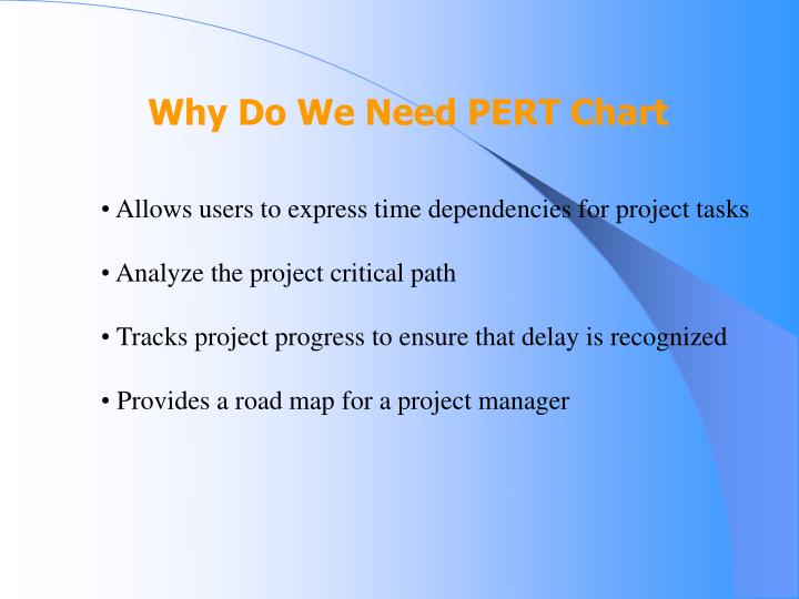 Why Do We Need PERT Chart