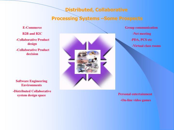 Distributed, Collaborative