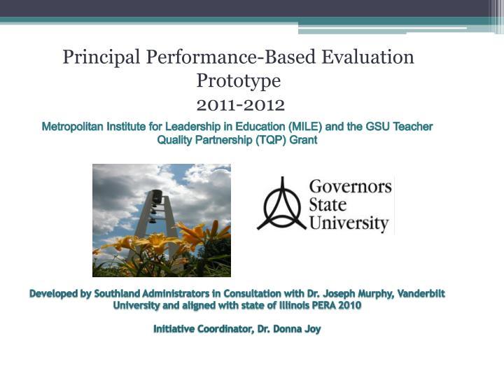 Metropolitan Institute for Leadership in Education (MILE) and the GSU Teacher Quality Partnership (TQP)