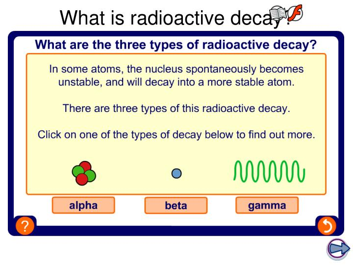 What is radioactive decay?