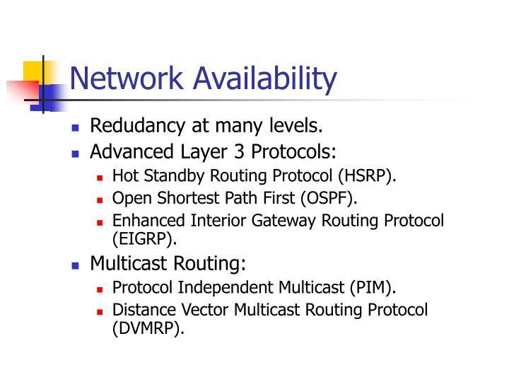Network Availability