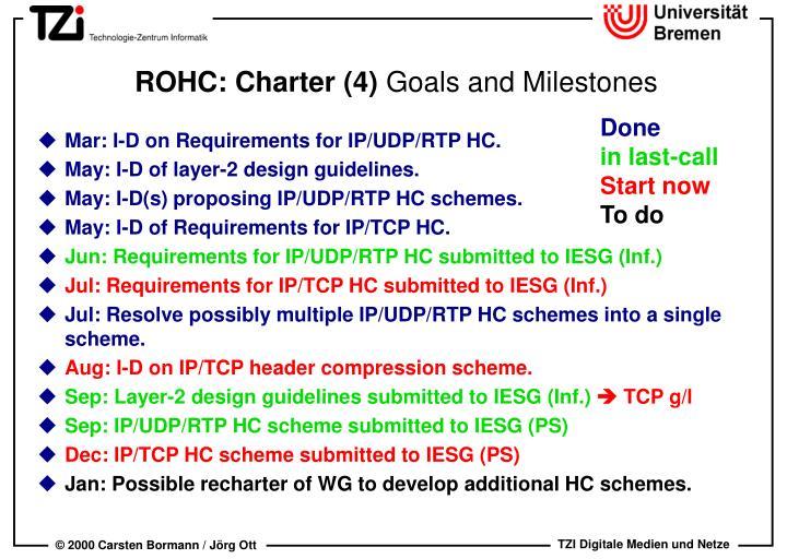 ROHC: Charter (4)