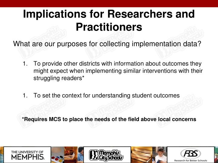 Implications for Researchers and Practitioners