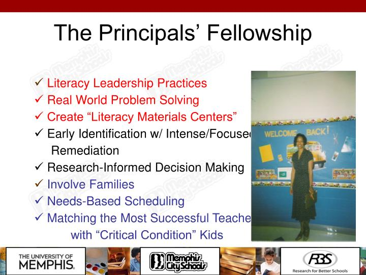 The Principals' Fellowship