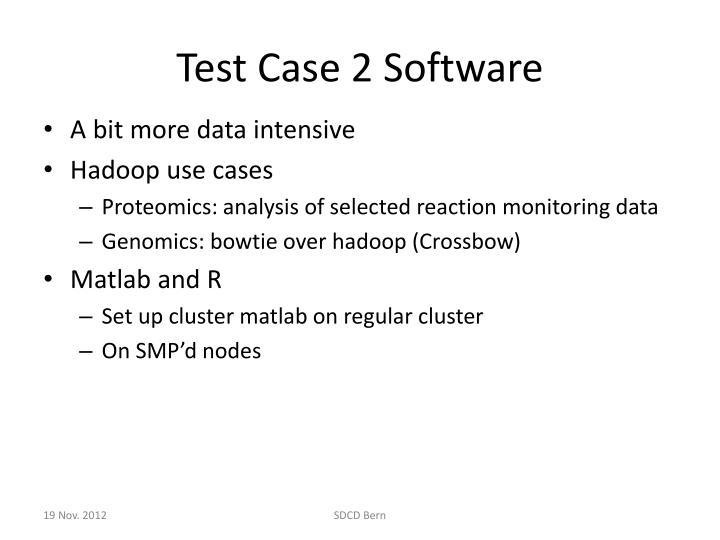 Test Case 2 Software