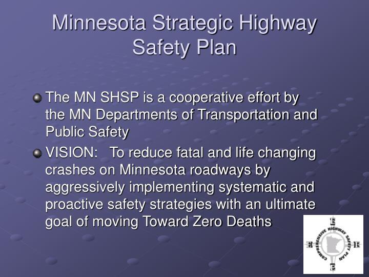 Minnesota Strategic Highway Safety Plan