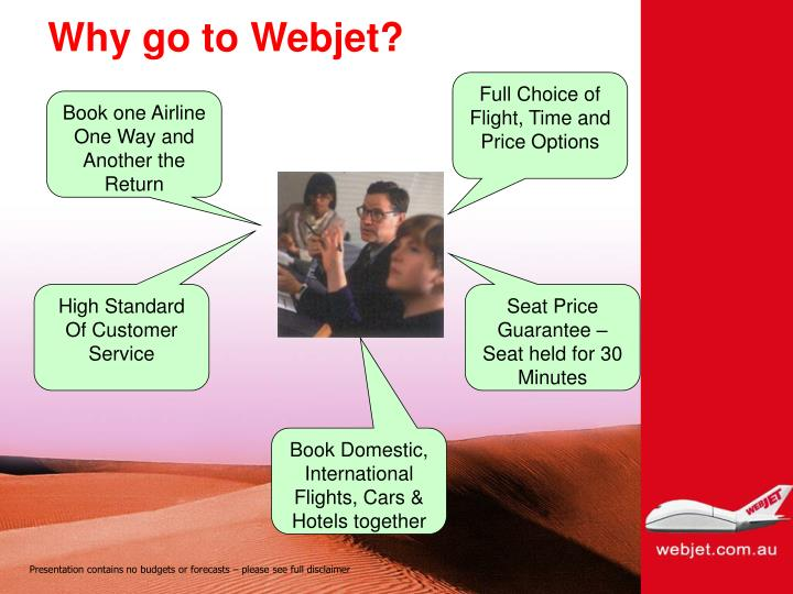 Why go to Webjet?