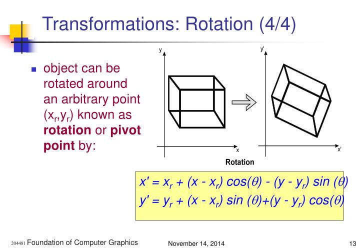 Transformations: Rotation (4/4)