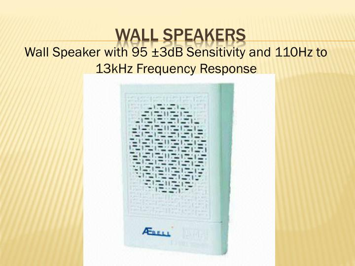 Wall Speakers