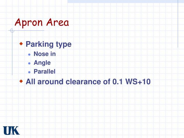 Apron Area