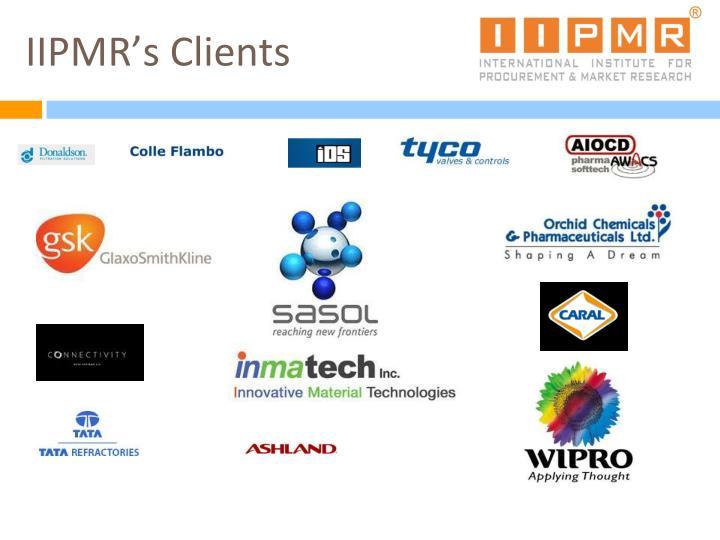 IIPMR's Clients