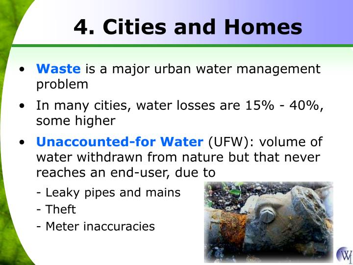 4. Cities and Homes
