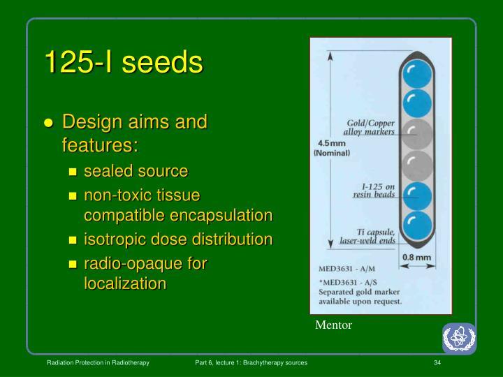 125-I seeds