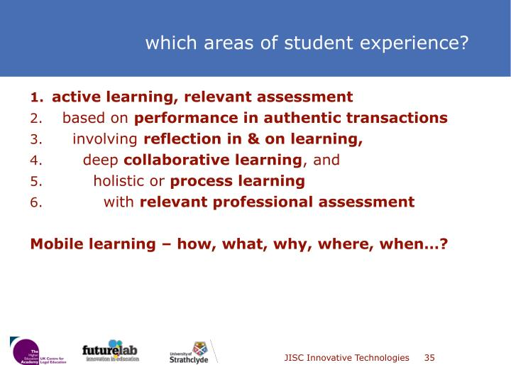 active learning, relevant assessment