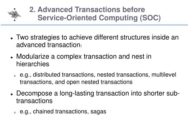 2. Advanced Transactions before