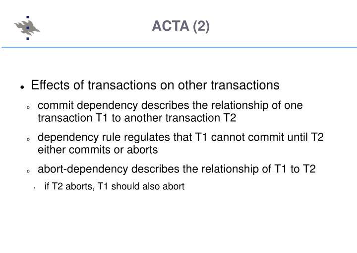ACTA (2)