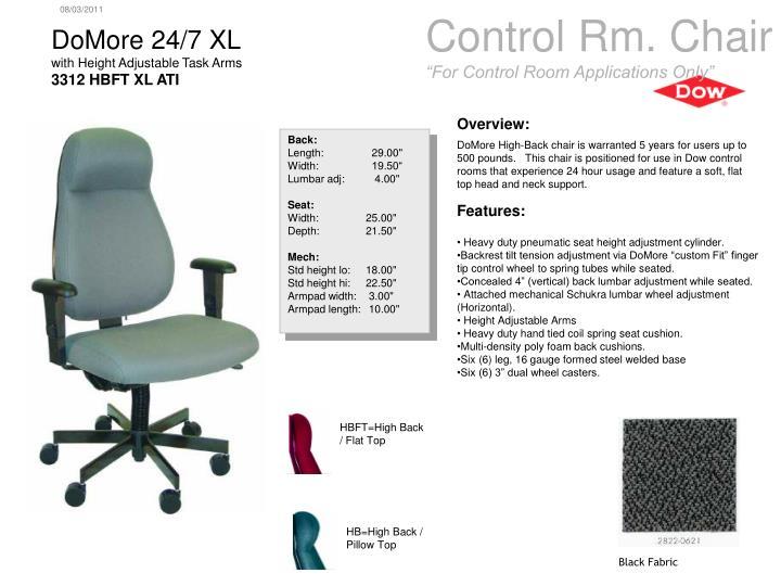 Control Rm. Chair