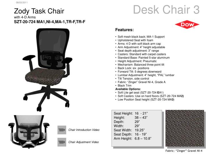 Desk Chair 3