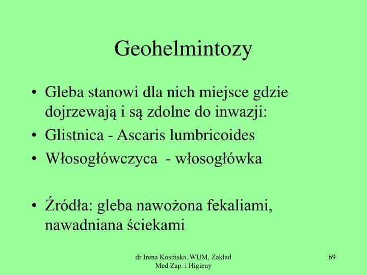 Geohelmintozy